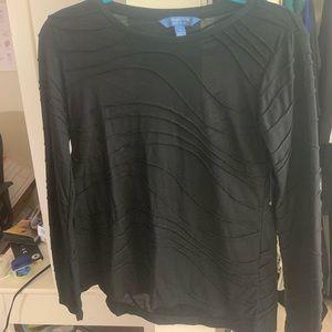 Simply Vera Black Shirt Never Worn!